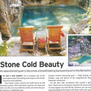 Aqua Pool Pool and Spa News article