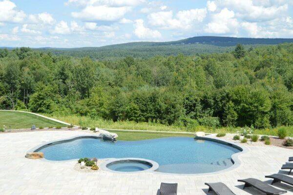 Inground Gunite Swimming Pool Builder, CT