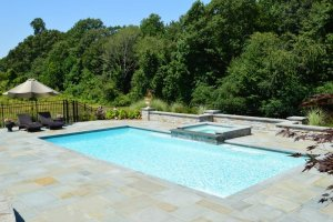 inground gunite swimming pool