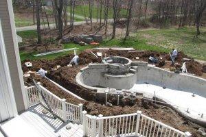 Gunite Pool and Spa Design CT, MA, RI