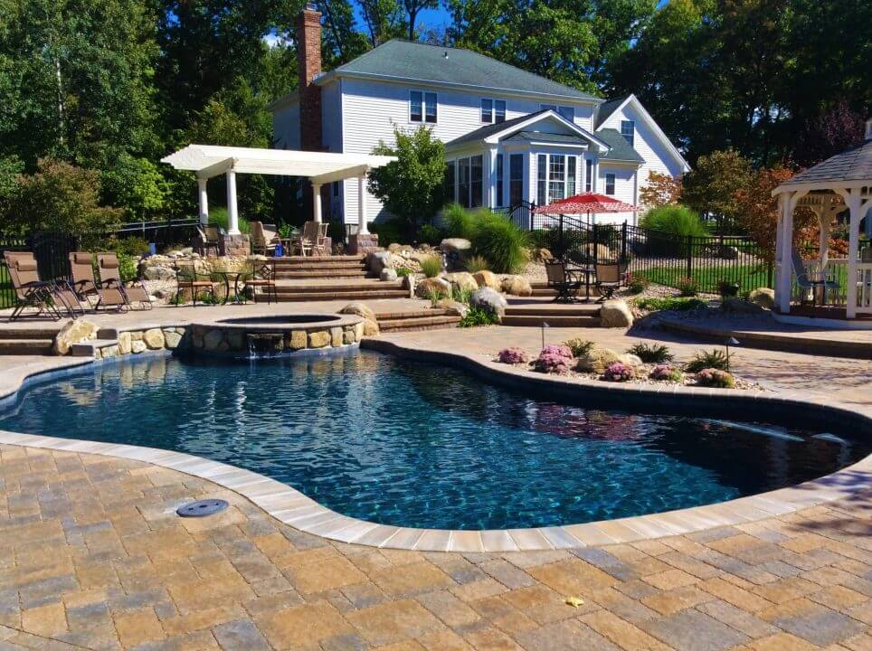 Gunite And Inground Gunite Swimming Pools