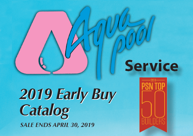 Aqua Pool's 2019 Pool Supply Catalog is Out
