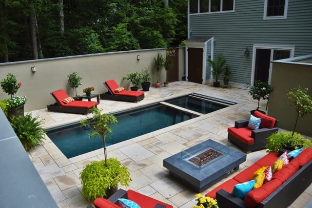 Making an Inground Pool Work for a Small Yard